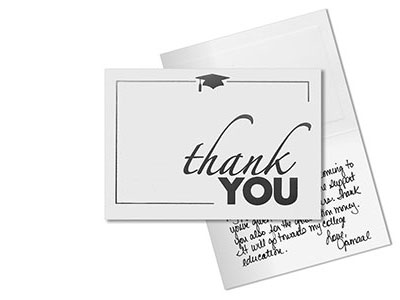 Graduation Announcements graduation invitations and name cards – Graduation Thank You Letter