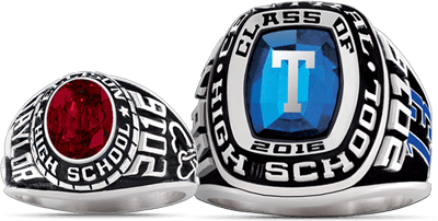 baron georgetown school rings championship preparatory grande ring products