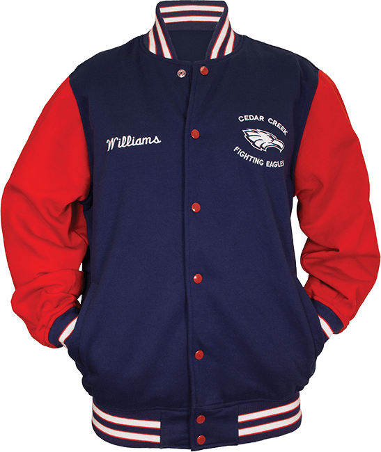 large front fleece