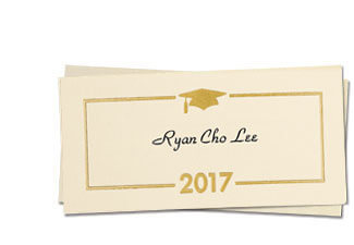 2017 namecards