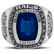 Depauw University His Rings Image