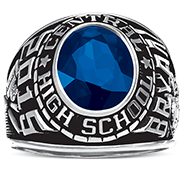 LeRoy Central Jr-Sr High School His Rings Image