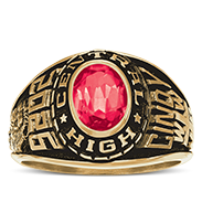 Diman Regional Vo-Tech High School Her Rings Image
