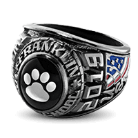 Cherokee County High School Class Rings