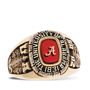 The University Of Alabama Her Rings