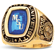 McNeese State University His Rings