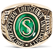 Southeastern Louisiana University His Rings