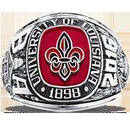 University Of Louisiana At Lafayette His Rings