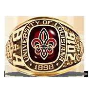 University Of Louisiana At Lafayette Her Rings