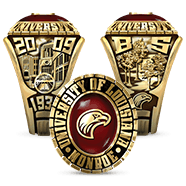 University Of Louisiana Monroe His Rings