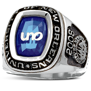 University Of New Orleans His Rings