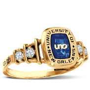 University Of New Orleans Her Rings