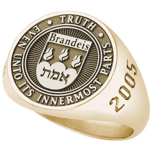 Brandeis University His Rings
