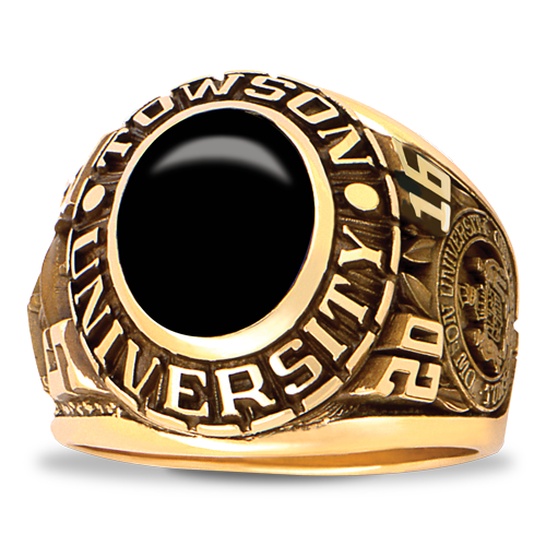 Towson University His Rings