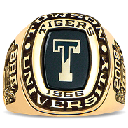 Towson University His Rings Image