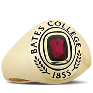 Bates College Her Rings