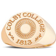 Colby College His Rings Image