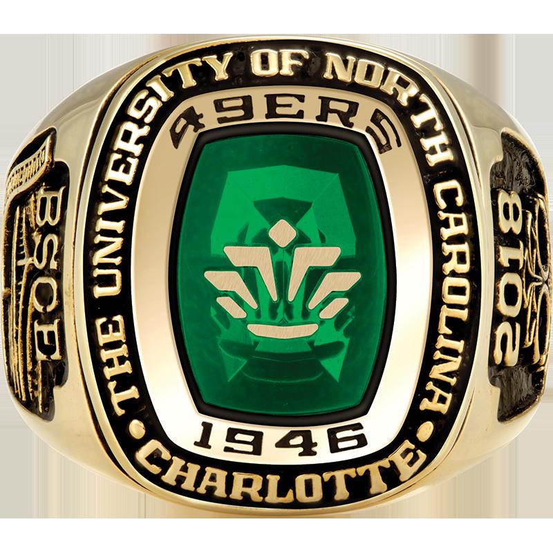 The University Of North Carolina At Charlotte His Rings