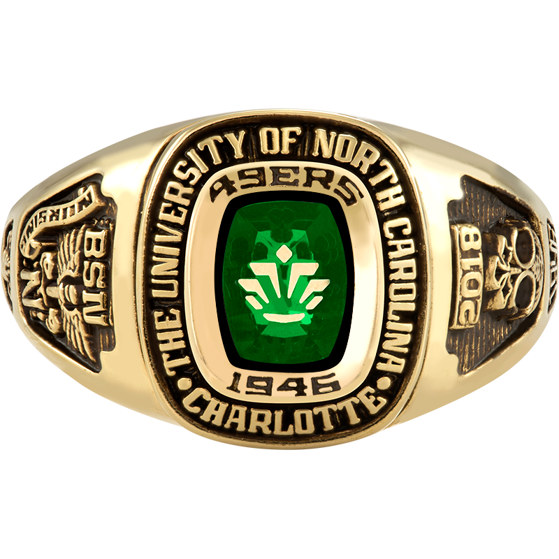 The University Of North Carolina At Charlotte Her Rings