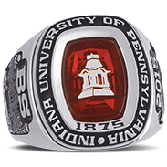 Indiana University Of Pennsylvania His Rings