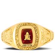 Indiana University Of Pennsylvania Her Rings