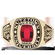 Kutztown University Her Rings