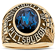 University Of Pittsburgh At Greensburg His Rings