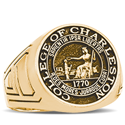 College Of Charleston His Rings