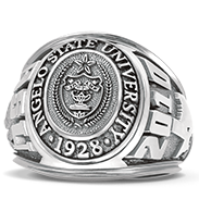 Angelo State University His Rings Image