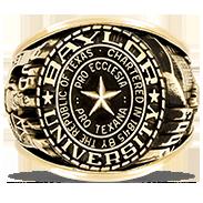 Baylor University Rings