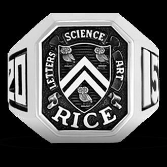 Rice University His Rings