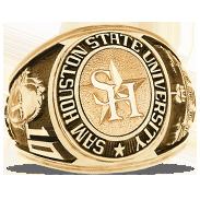 Sam Houston State University His Rings