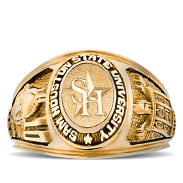 Sam Houston State College Rings