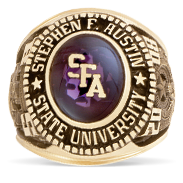 Stephen F. Austin State University His Rings