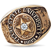 Texas State University His Rings