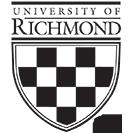 University Of Richmond Seal Image