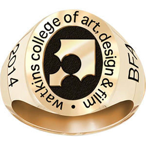 Watkins College Of Art Design And Film His Rings