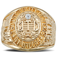 The University Of Texas At Dallas His Rings Image