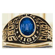 Cypress Creek High School Her Rings