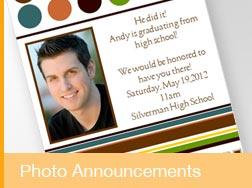 Photo Announcements